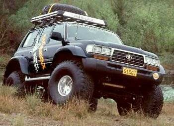 Toyota Land Cruiser - Off road
